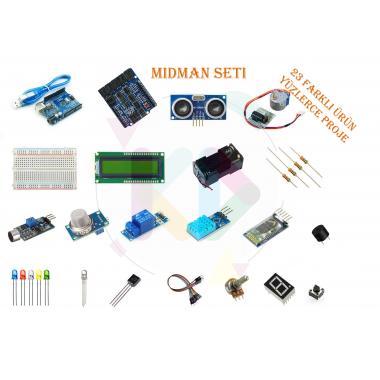 Midman Orta Seviye Arduino Seti