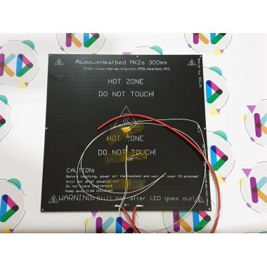 MK2A 300X300mm 3mm Alüminyum Isıtıcı Tabla