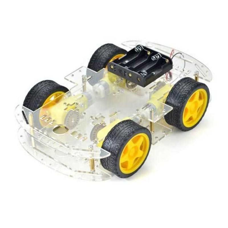 4WD Robot Araba Kiti