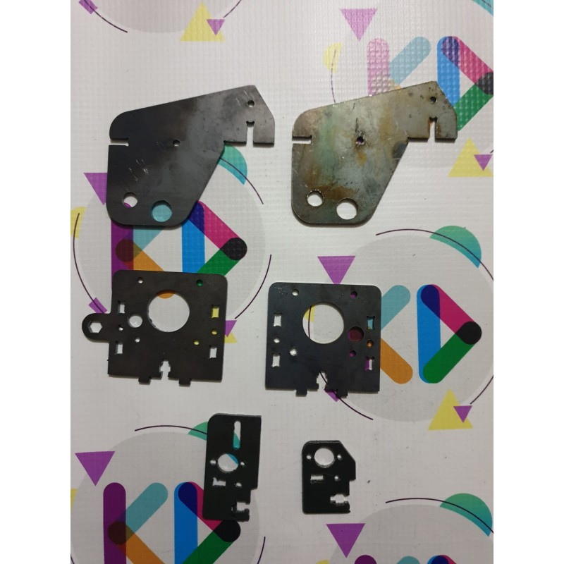 Prusa İ3 Full Metal Trapez Çevirme Seti (3mm)