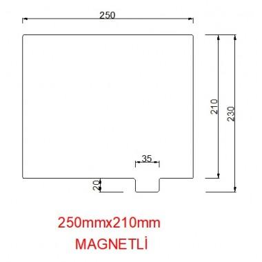 mk42-250mmx210mm(Magnetli) Paslanmaz Yay Çeliği