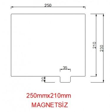 mk42-250mmx210mm(Magnetsiz) Paslanmaz Yay Çeliği